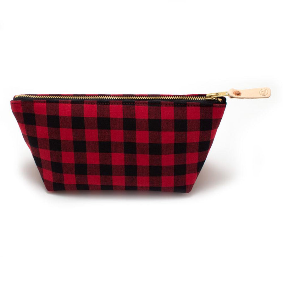 Buffalo Check Travel Clutch - General Knot & Co. ,  Bags - Neckwear and travel bags