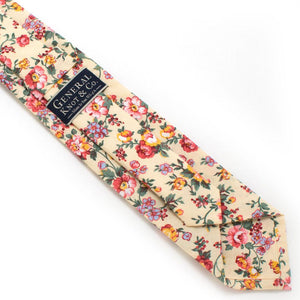 "Butter Rose Necktie - General Knot & Co. ,  Classic Necktie 2 7/8"" x 58"" - Neckwear and travel bags"