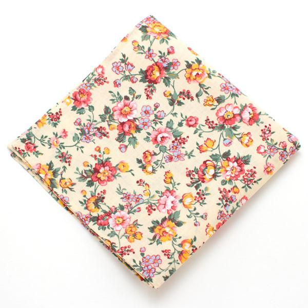 "Butter Rose Pocket Square - General Knot & Co. ,  Squares 13""x13"" - Neckwear and travel bags"