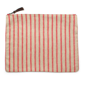 Cape Cod Stripe Laptop Sleeve/Carryall - General Knot & Co. ,  Bags - Neckwear and travel bags