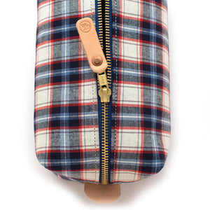 Cedar Rapids Check Travel Kit - General Knot & Co. ,  Bags - Neckwear and travel bags