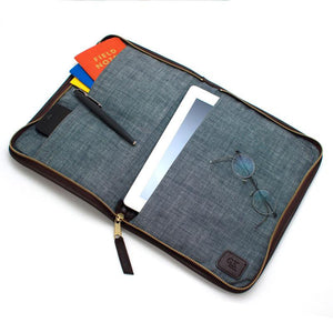 Chalk Stripe Mobile Office - General Knot & Co. ,  Mobile Office - Neckwear and travel bags