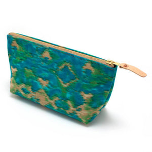 Cool Indian Ikat  Travel Clutch - General Knot & Co. ,  Women's Carryalls - Neckwear and travel bags