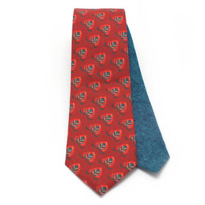 Crimson Avignon Necktie - General Knot & Co. ,  Archives - Neckwear and travel bags