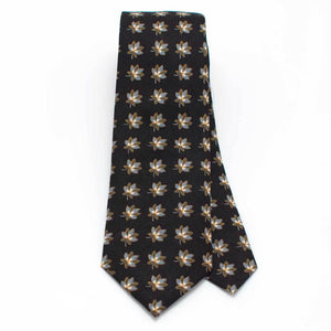 "Dark Arles Botanical Necktie - General Knot & Co. ,  Classic Necktie 2 7/8"" x 58"" - Neckwear and travel bags"