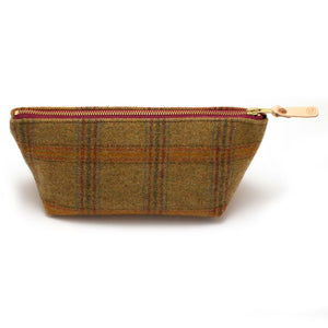 Foster Wool Plaid Travel Clutch Bags General Knot & Co.