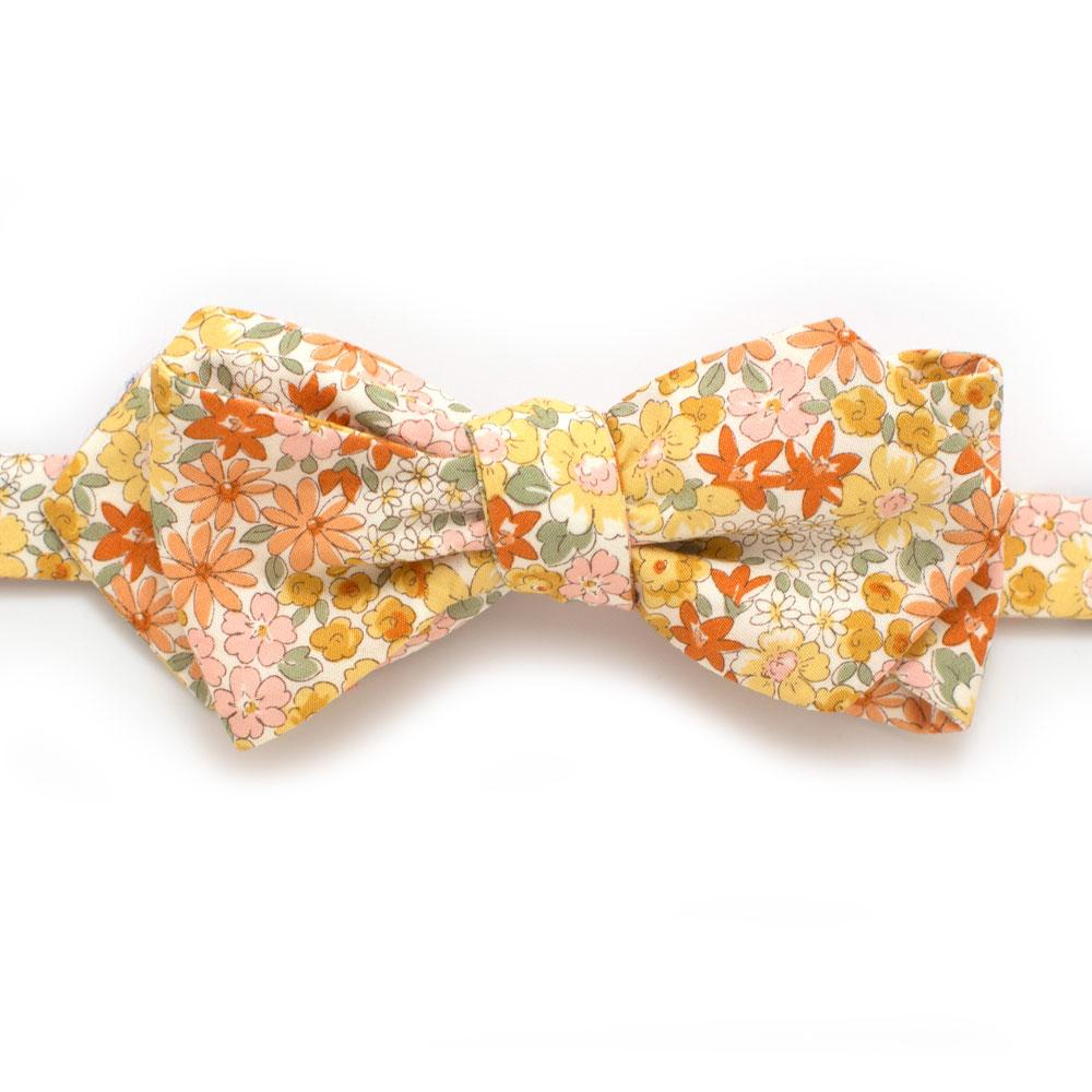 8236996d23d0 Golden Valley Floral Bow - General Knot & Co. , Self-Tied Classic Bow