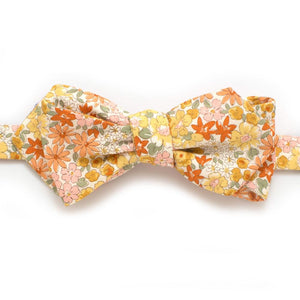"Golden Valley Floral Bow Self-Tied Classic Bow Tie 2.5"" at Widest General Knot & Co."