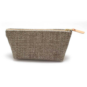 Hammered Silver Travel Clutch - General Knot & Co. ,  Women's Carryalls - Neckwear and travel bags