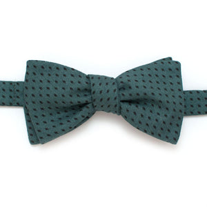 "Harvest Geo Classic Bow- Fir - General Knot & Co. ,  Self-Tied Classic Bow Tie 2.5"" at Widest - Neckwear and travel bags"