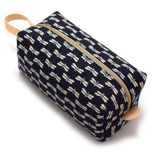 Indigo Dragonflies Travel Kit - General Knot & Co. ,  Bags - Neckwear and travel bags
