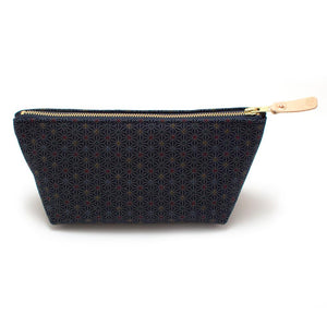 Indigo Stain Glass Travel Clutch - General Knot & Co. ,  Bags - Neckwear and travel bags