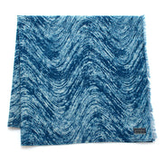 Indigo Waves Block Print Bandana - General Knot & Co. ,  Scarves - Neckwear and travel bags