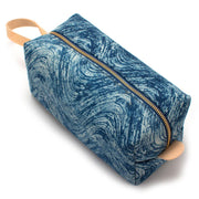 Indigo Waves Block Print Travel Kit - General Knot & Co. ,  Bags - Neckwear and travel bags