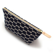 Japanese Indigo Dragonflies Travel Clutch - General Knot & Co. ,  Bags - Neckwear and travel bags