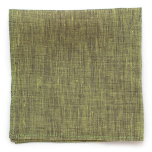 "Keylime Slub Square - General Knot & Co. ,  Squares 13""x13"" - Neckwear and travel bags"