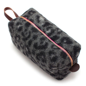Leopard Print Travel Kit - General Knot & Co. ,  Bags - Neckwear and travel bags