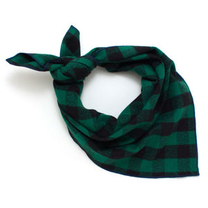 "Lumberjack Check Bandana - General Knot & Co. ,  Neck Scarves 20""x 20"" - Neckwear and travel bags"