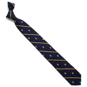 "Men In Blazers Crap Cat Stripe Necktie - General Knot & Co. ,  Necktie 3"" (at widest) x 58"" (long) - Neckwear and travel bags"