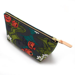 Midcentury Rose Makeup Bag - General Knot & Co. ,  Bags - Neckwear and travel bags