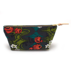 Midcentury Rose Travel Clutch - General Knot & Co. ,  Bags - Neckwear and travel bags