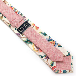 "Mill Creek Botanical Necktie - General Knot & Co. ,  Classic Necktie 2 7/8"" x 58"" - Neckwear and travel bags"