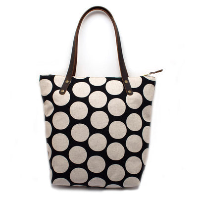 Monster Dot Portfolio Tote - General Knot & Co. ,  Bags - Neckwear and travel bags