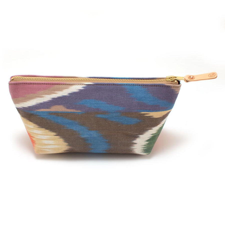 Moondust Ikat Travel Clutch - General Knot & Co. ,  Bags - Neckwear and travel bags