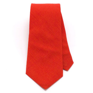 "Persimmon Classic Necktie - General Knot & Co. ,  Classic Necktie 2 7/8"" x 58"" - Neckwear and travel bags"