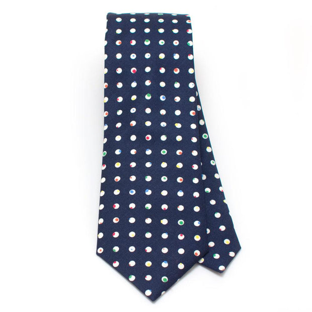 "Pop Dot Necktie - General Knot & Co. ,  Classic Necktie 2 7/8"" x 58"" - Neckwear and travel bags"