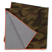 Ranger Camo/ Chambray Double-Sided Bandana - General Knot & Co. ,  Squares - Neckwear and travel bags