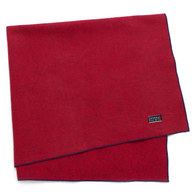 "Red Marl Bandana - General Knot & Co. ,  Neck Scarves 20""x 20"" - Neckwear and travel bags"