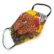 Reusable Bright Garden Face Mask- Elastic Loops Masks General Knot & Co.