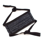 Reusable Chalk Stripe Face Mask - General Knot & Co. ,  Masks - Neckwear and travel bags