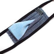Reusable Indigo Stain Glass Face Mask - General Knot & Co. ,  Masks - Neckwear and travel bags