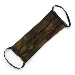 Reusable Ranger Camo Face Mask- Elastic Loops Masks General Knot & Co.