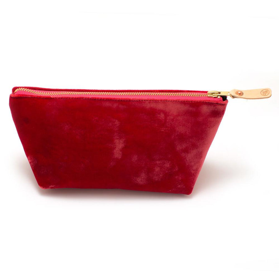 Rose Velvet Travel Clutch - General Knot & Co. ,  Bags - Neckwear and travel bags