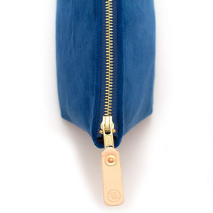 Sapphire Velvet Travel Clutch Bags General Knot & Co.