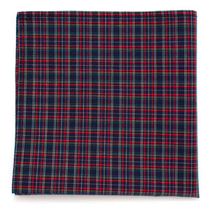 "Somerset Micro Tartan Square - General Knot & Co. ,  Squares 13""x13"" - Neckwear and travel bags"