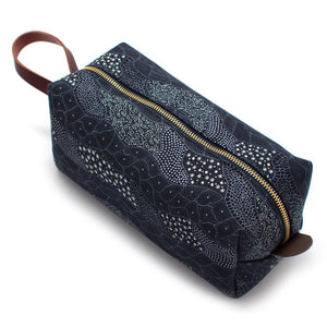 Stellar Waves Aboriginal Print Travel Kit - General Knot & Co. ,  Bags - Neckwear and travel bags