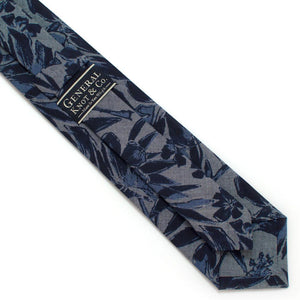 "Tropical Chambray Necktie Classic Necktie 2 7/8"" x 58"" General Knot & Co."