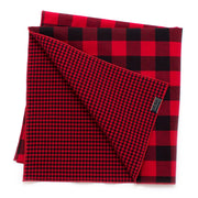 Twin Buffalo Check Double Sided Bandana - General Knot & Co. ,  Squares - Neckwear and travel bags