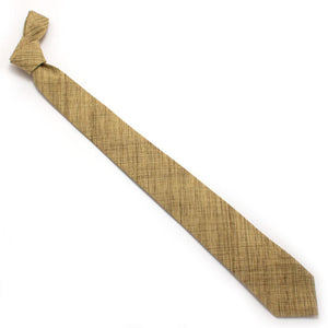 "Umber Crosshatch Necktie - General Knot & Co. ,  Classic Necktie 2 7/8"" x 58"" - Neckwear and travel bags"