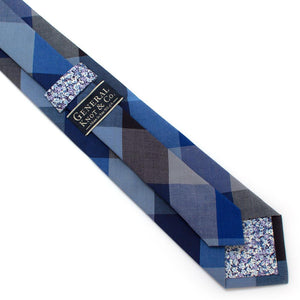 "Vintage Beartooth Check Necktie - General Knot & Co. ,  Classic Necktie 2 7/8"" x 58"" - Neckwear and travel bags"