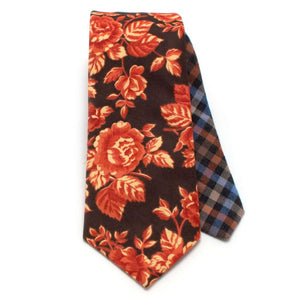 Vintage Blaze Rose Necktie - General Knot & Co. ,  Archives - Neckwear and travel bags