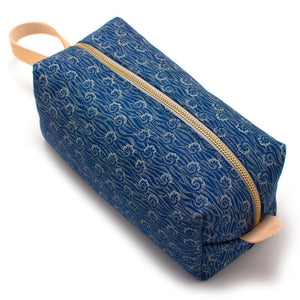 Vintage Blue Surf Travel Kit - General Knot & Co. ,  Bags - Neckwear and travel bags