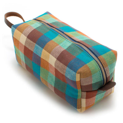 Vintage Check Travel Kit - General Knot & Co. ,  Bags - Neckwear and travel bags