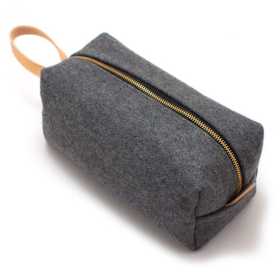 Vintage Dover Wool Travel Kit - General Knot & Co. ,  Bags - Neckwear and travel bags