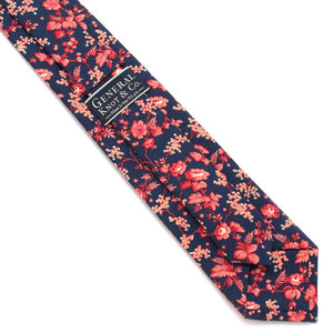 "Vintage Elkins Garden Necktie - General Knot & Co. ,  Classic Necktie 2 7/8"" x 58"" - Neckwear and travel bags"