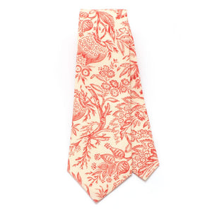 "Vintage French Botanical Necktie - General Knot & Co. ,  Classic Necktie 2 7/8"" x 58"" - Neckwear and travel bags"